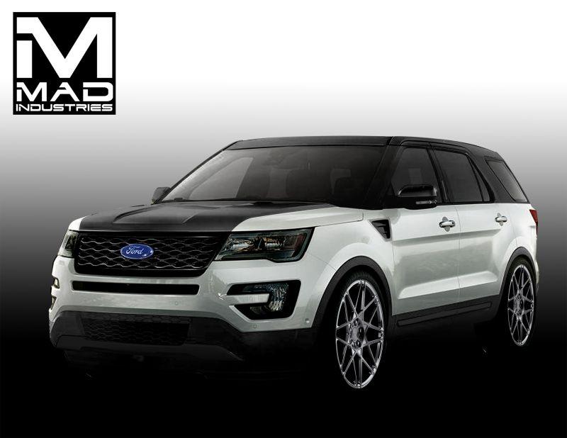 4 варианта тюнинга Ford Explorer Sport