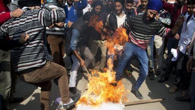 Что разозлило сикхов в Индии?