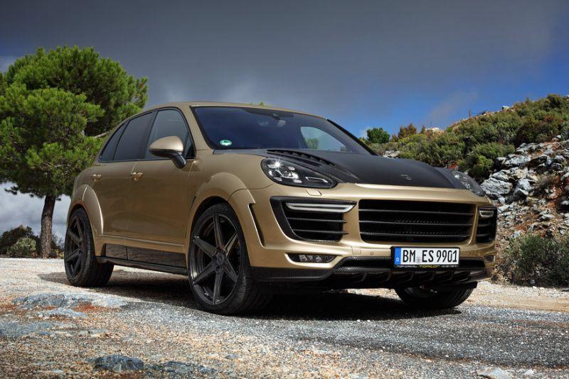 Porsche Cayenne Turbo Vantage Gold: ездить по-богатому