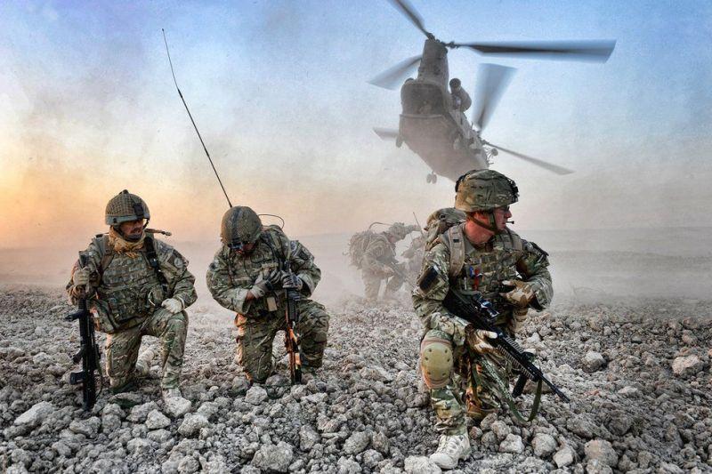 BBC опубликовало подборку лучших военных фотографий