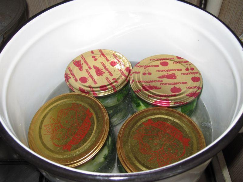 Огурцы в собственном соку рецепт на зиму