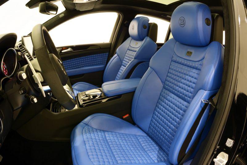 Brabus добавил мощности Mercedes-Benz GLE Coupe 63 AMG S