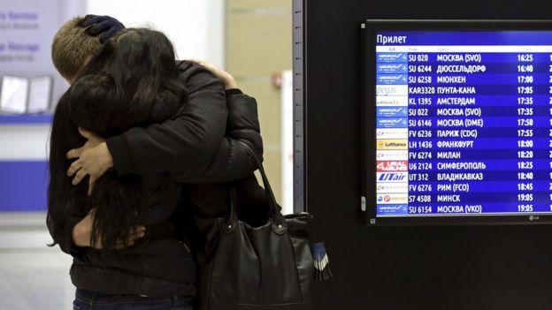 Самолет «Когалымавиа» упал из-за внешнего воздействия: BBC