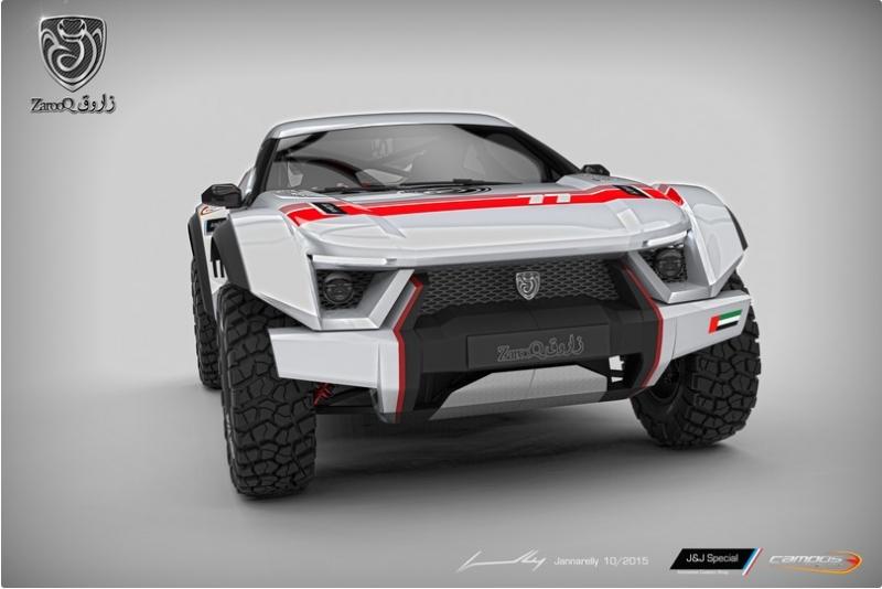 Zarooq Motors Sand Racer: покоритель бездорожья из ОАЭ