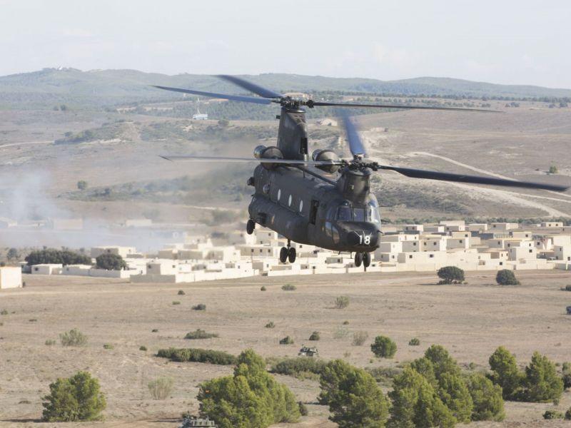Фотогалерея учений НАТО в Испании