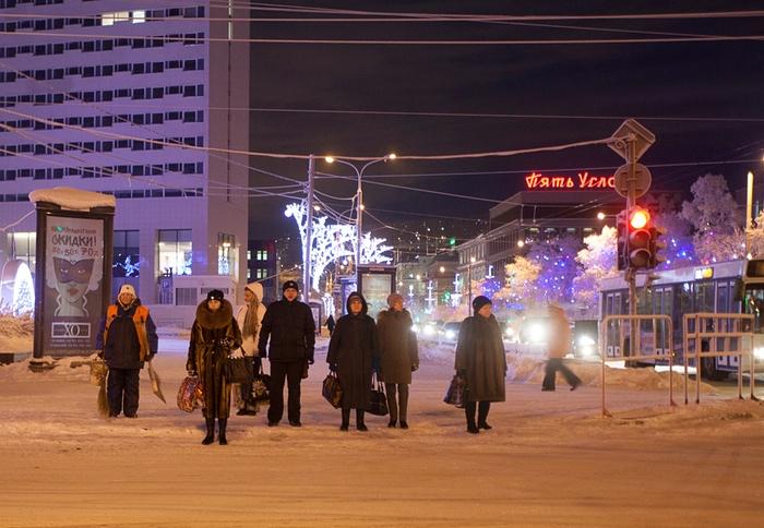 Мурманск: город, где ночь длится 40 дней