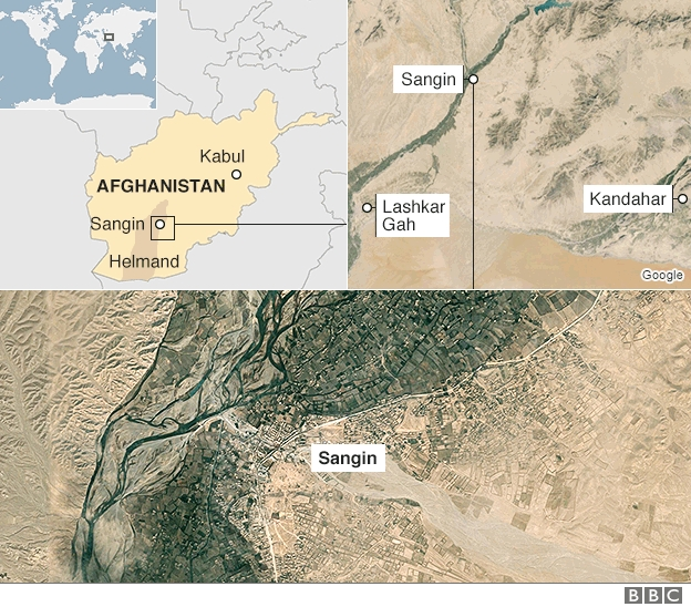 Несколько десятков бойцов Талибан погибли в бою за Сангин