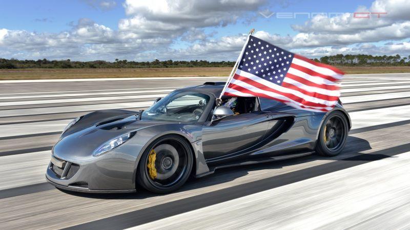 Cамая быстрая машина в мире