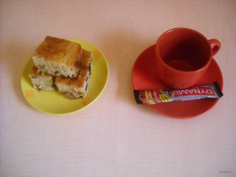 Манник на кефире пошаговый рецепт
