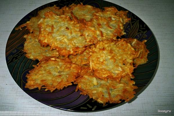 Драники из картошки рецепт