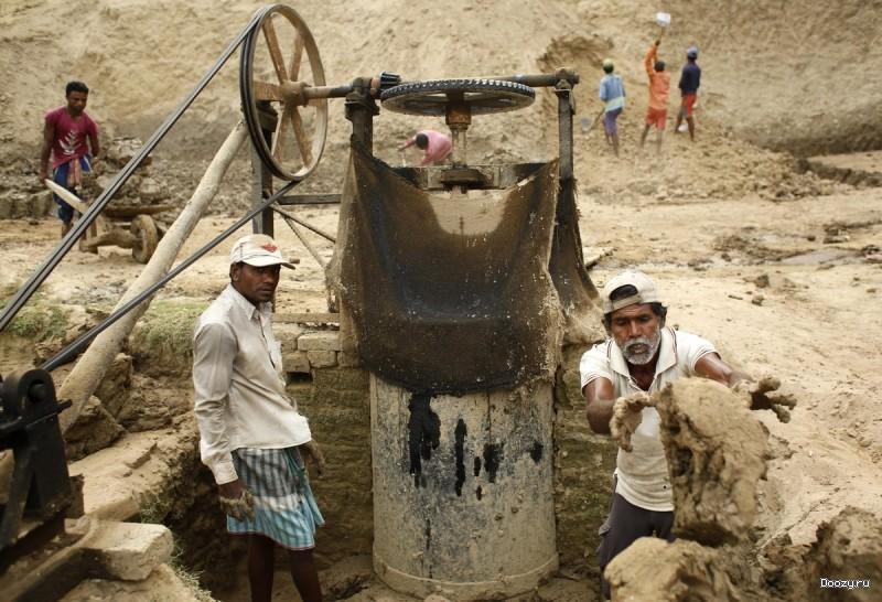Производство кирпича в Бангладеш