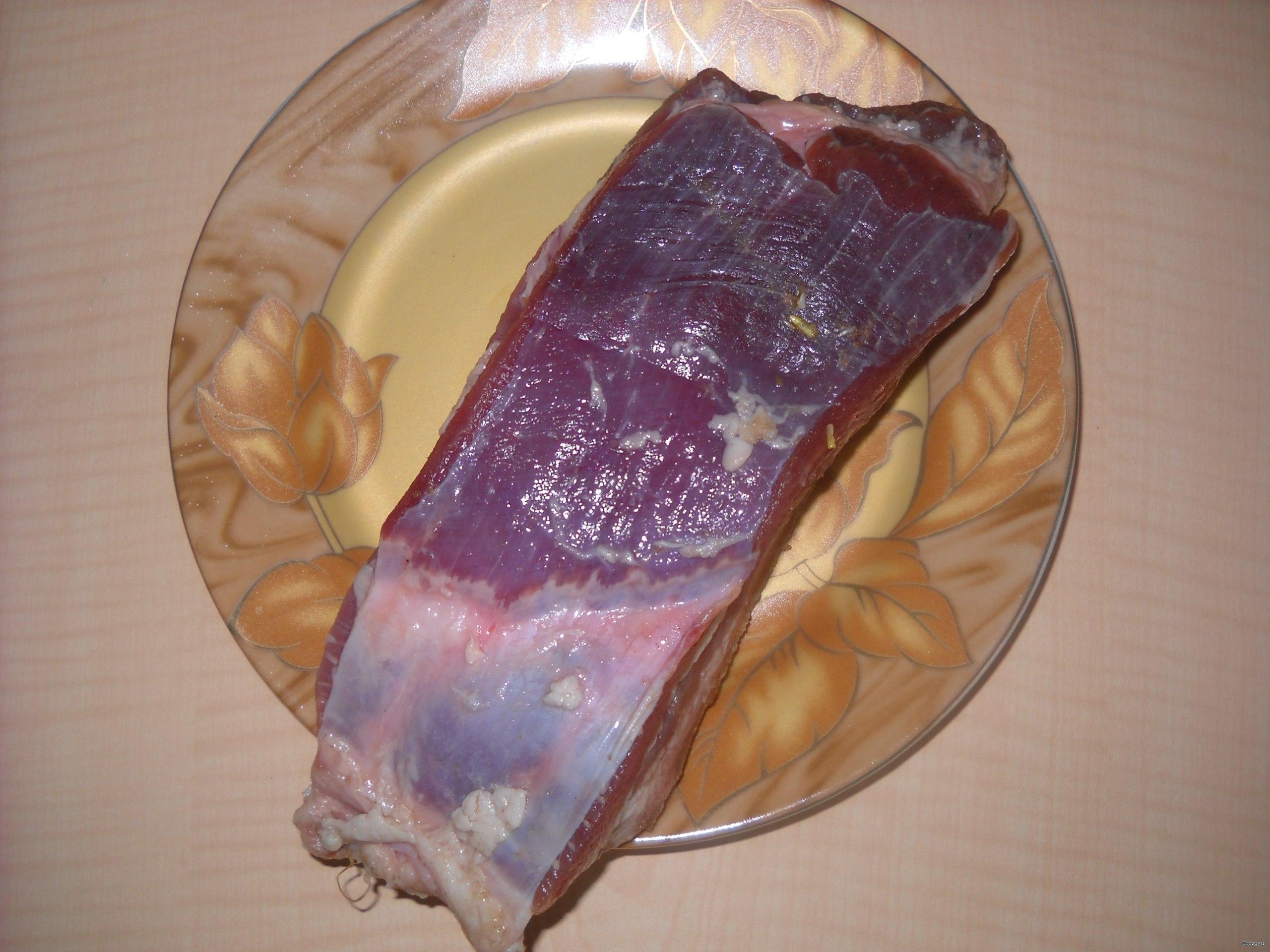 Грудинка свиная рецепт в фольге