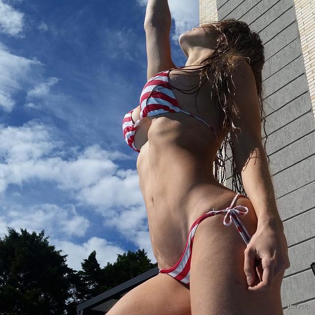 Anllela Sagra - фитнес модель из Колумбии