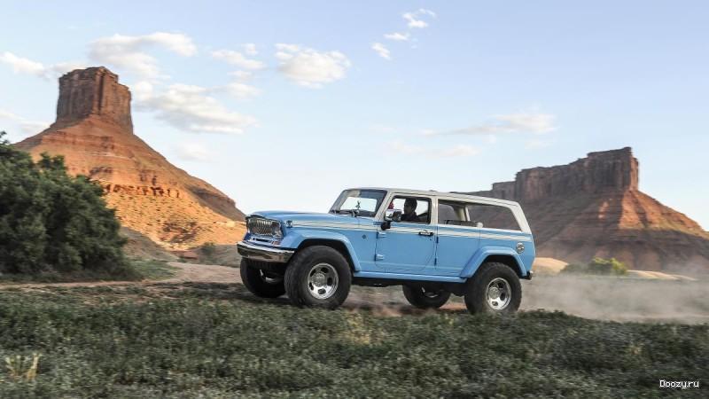 Концепт-кар Jeep Chief