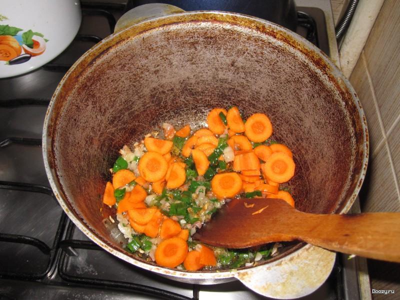 Весеннее рагу с кабачками