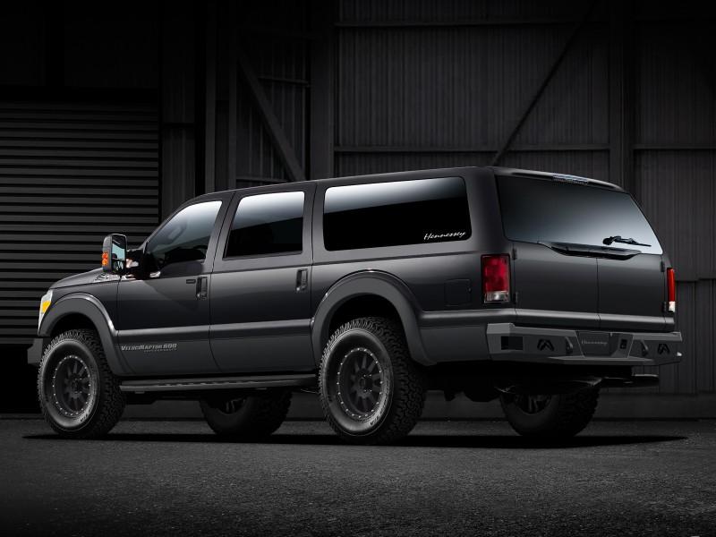 Hennessey обновил внедорожник VelociRaptor SUV