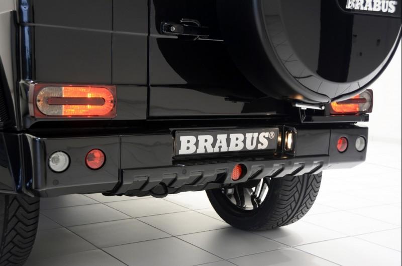 Огромный и очень крутой Brabus G500 XXL Pickup Truck
