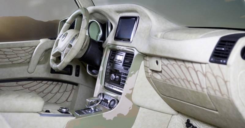 Компания Mansory примерила камуфляжную форму на Mercedes-Benz G63 AMG