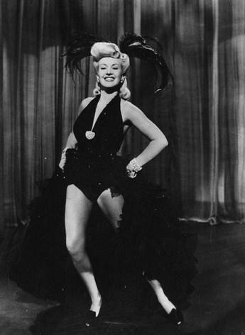 Бетти Грейбл: самая известная женщина пин-ап эпохи