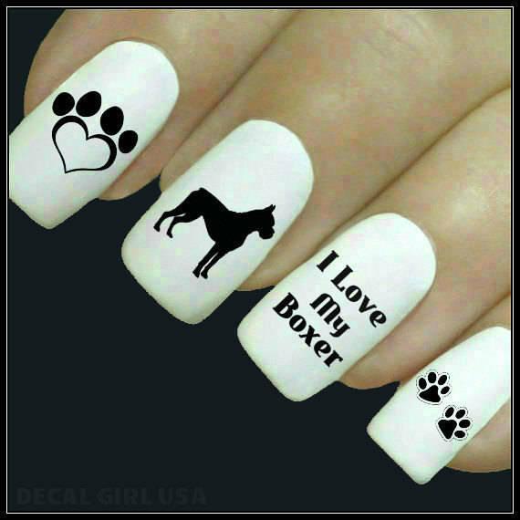 Идеи маникюра для любительниц собак