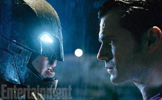 Первые кадры из фильма «Бэтмен против Супермена: На заре справедливости»