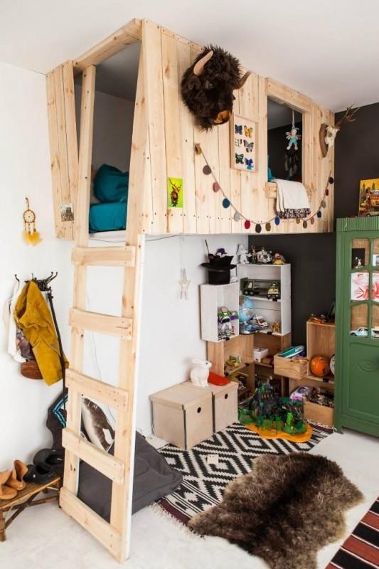 Потрясающие идеи оформления детской комнаты