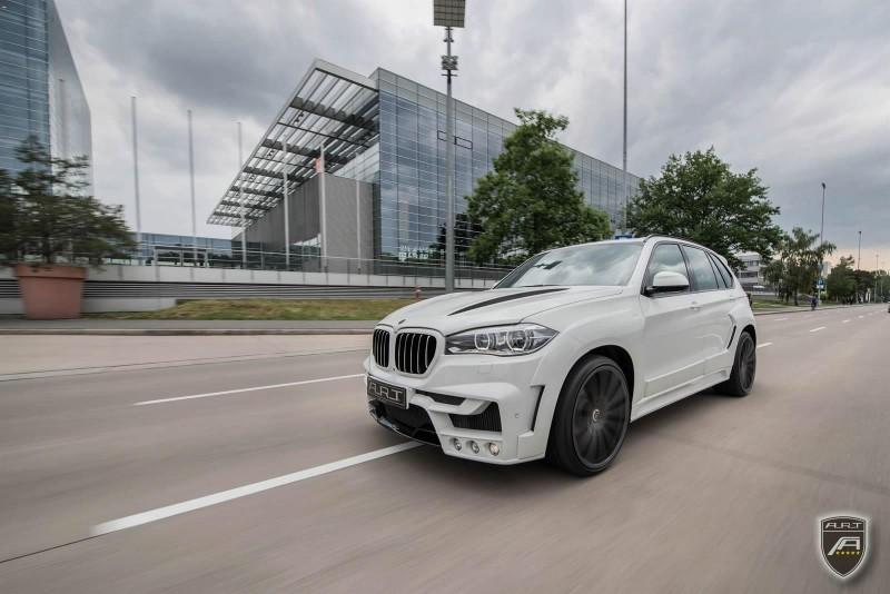 Внешность BMW X5 доработали в компании A.R.T.