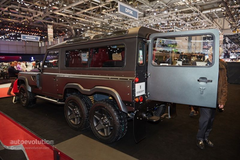 Flying Huntsman 6X6: британский ответ