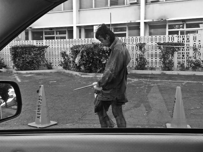 Фотограф случайно нашла своего отца среди бездомных