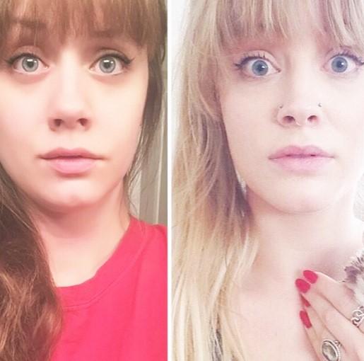 Девушка нашла двойника в интернете