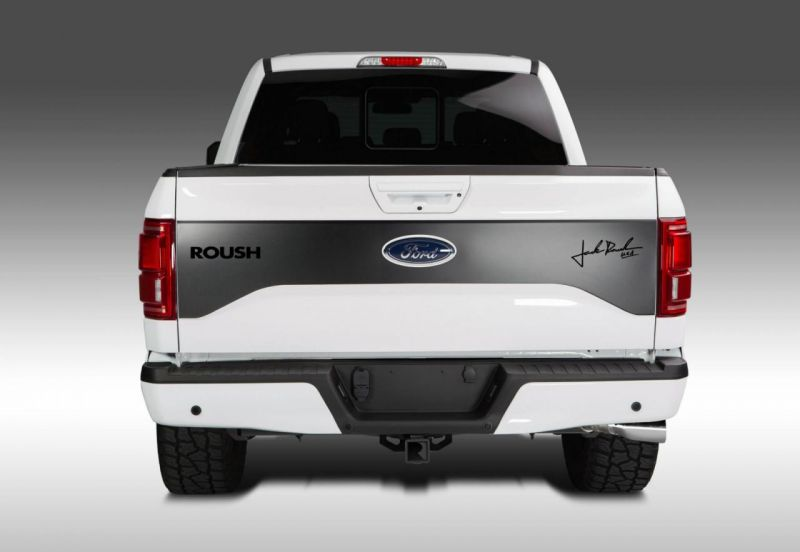 Монохромный дизайн Ford F-150 от Roush Performance