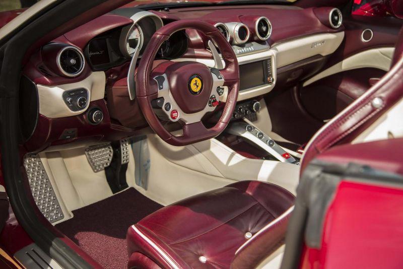 Ferrari продемонстрировала эксклюзивную California T