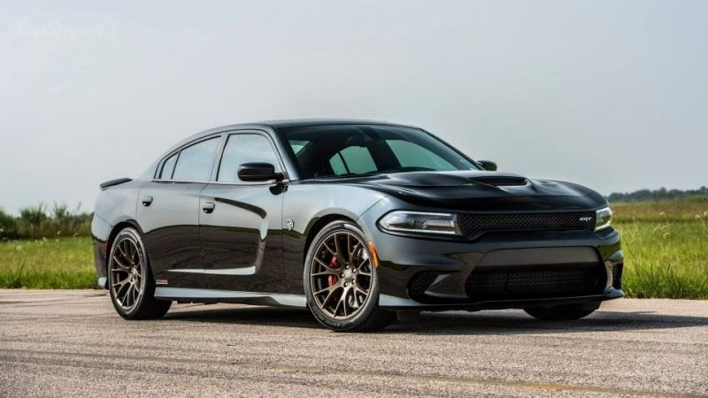 Dodge Charger SRT Hellcat HPE800: почти суперкар