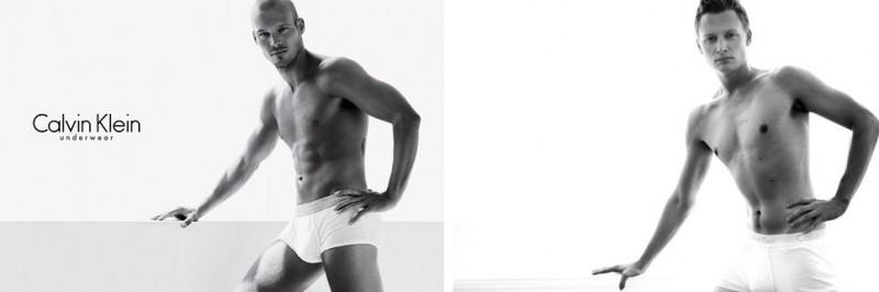 Простые парни VS модели Calvin Klein