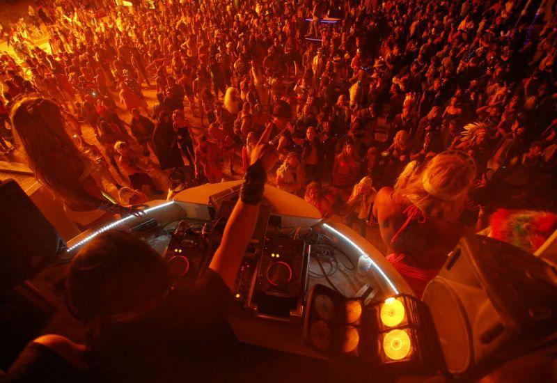 Фестиваль «Горящий человек» в Неваде: горячие фото