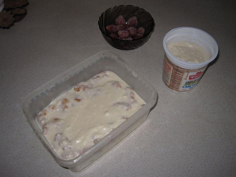 Легкий летний тортик без выпечки