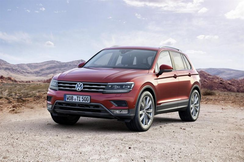 Состоялась премьера Volkswagen Tiguan второго поколения