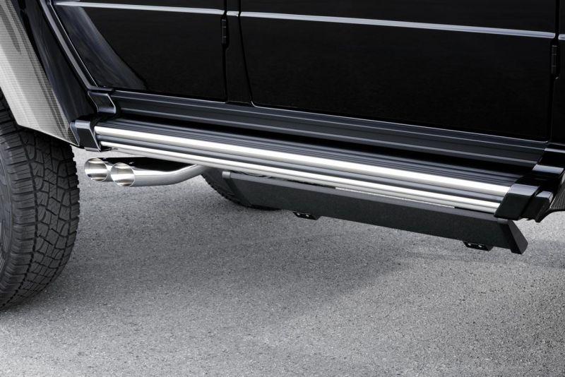 Brabus зарядил Mercedes-Benz G500 4x4