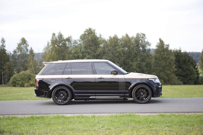 Mansory добавили роскоши салону Range Rover
