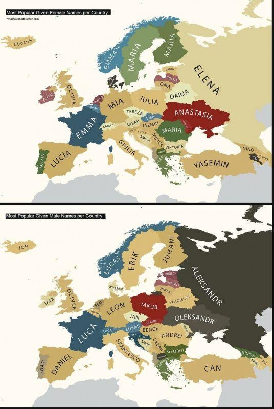 32 карты, благодаря которым вы заново откроете Европу