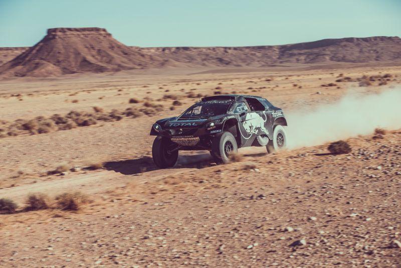 Новый ралли-кар Peugeot 2008 DKR прошел испытания перед «Дакар-2016»