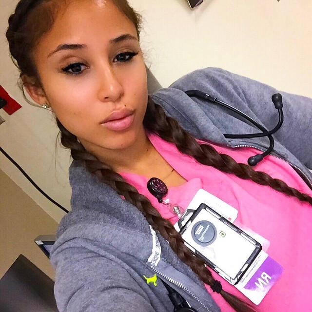Самая красивая медсестра - Kaicyre Palmers