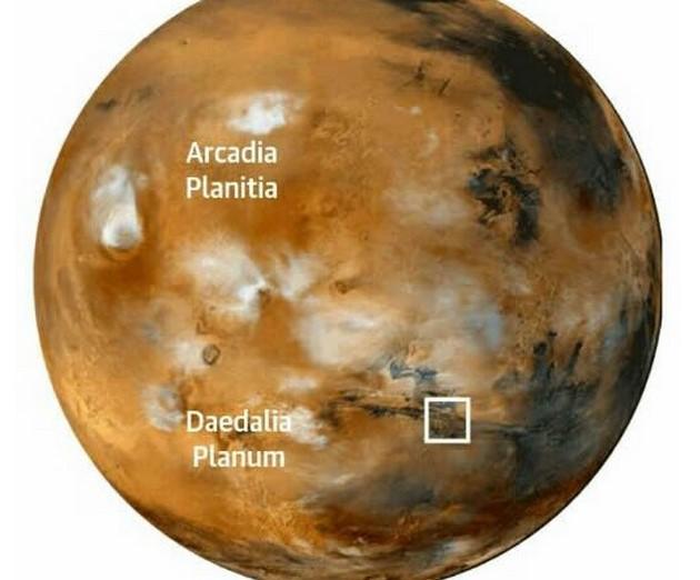 NASA нашло на Марсе жидкую воду