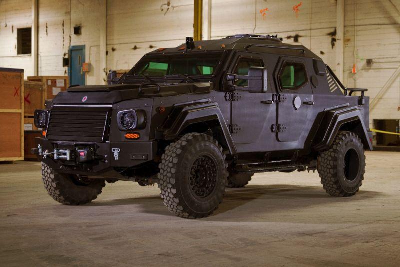 Terradyne Gurkha RPV: наверное, самый безопасный пикап
