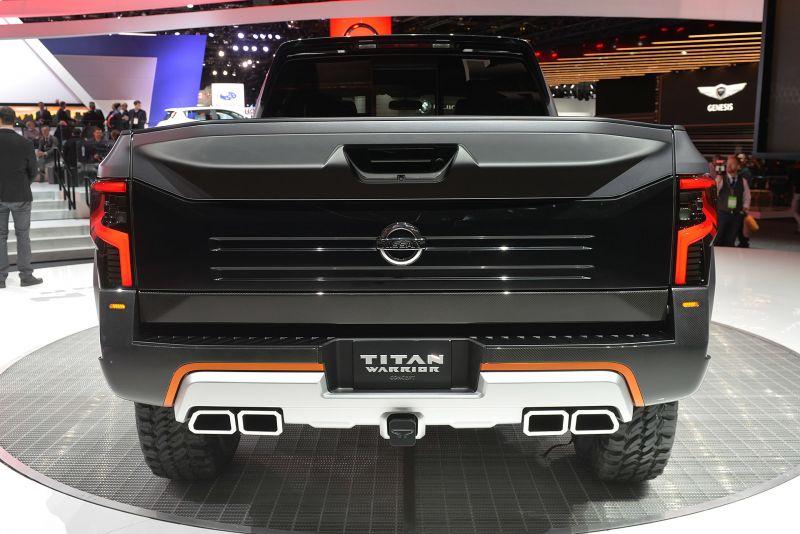 Nissan Titan Warrior – экстремальный пикап для города и бездорожья