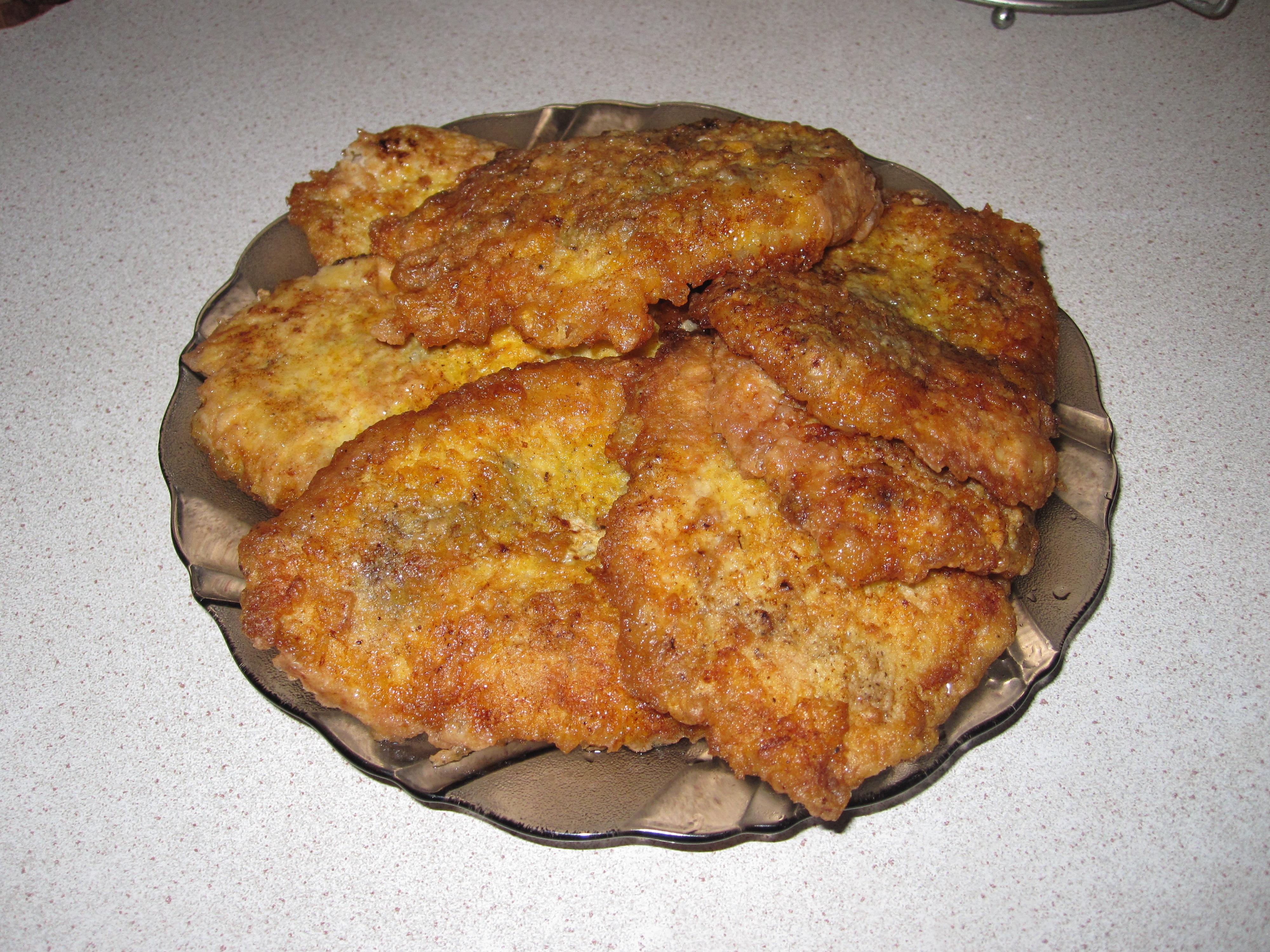 Куриная отбивная в кляре в духовке фото рецепт пошаговый