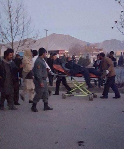 Смертник взорвал бомбу возле российского посольства в Кабуле