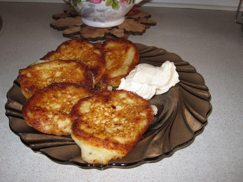 Рецепт оладьев на кефире пышных