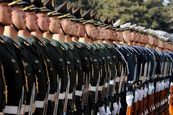 Китай создал три новых военных подразделения