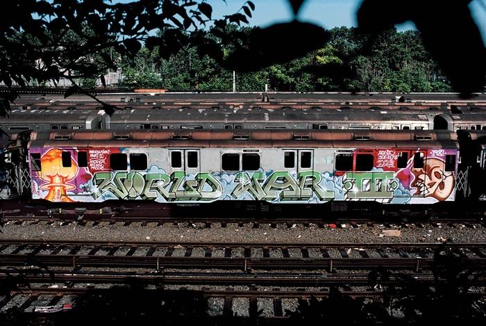 Граффити нью-йоркского метро: фотогалерея